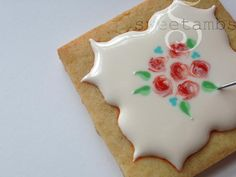 wet-on-wet technique in royal icing