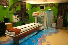 "Aparato de medicina nuclear ""en la jungla"""