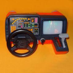 VINTAGE 1983 TOMY TURNIN  TURBO DASHBOARD RACING CAR DRIVING GAME NOT WORKING