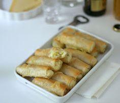 pasta fillo farcita con patate e formaggio