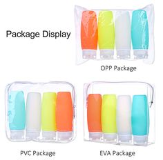 Leak proof refillable 3 oz silicone travel bottles for toiletries and liquids, best TSA approved travel shampoo bottle large 2019 new arrival. Semi Flush Ceiling Lights, Travel Bottles, Pencil Art Drawings, Free Products, Packaging, Plastic, Wrapping
