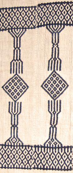 "Detail: British Museum, Af1952,10.4. before 1952. ""Njawi"" cloth. Mende."