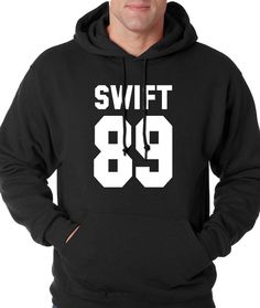 Hoodie Swift 89 Hooded Birth Year Sweatshirt Printed #1131  from $24.99 at xpressiontees.etsy.com | #ExpressionTees