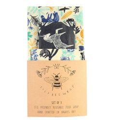 Shop now for Eco friendly food wraps, made from beeswax and cotton in NZ. Keep food fresh with zero waste with our plastic free, reusable eco food wraps! Eco Food Wrap, Honey Wrap, Reusable Food Wrap, Bees Wrap, Cherry Blossom Season, Green Tips, Eco Friendly House, Textile Patterns, Textiles