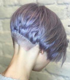 Choppy Lavender Pixie Bob
