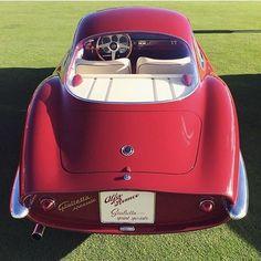 "Italian As* .  Alfa Romeo Giulietta SS ""Sprint Speciale"" Prototipo •••••••••••••••••••••••••• By @loprestocollection  @car_vintage #italian #alfaromeo #italy #pebblebeach #california #ferrari #giulietta #giuliettass #giuliettasprintspeciale #alfaromeogiulietta #carporn #vintage #watchanish #giuliettasprint #elegance #lux #luxury #luxurycar #luxurylife #fine #fashion #cars #londoncars #italiancars #arfio #autoporn #automotive #instacar"
