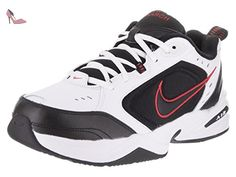 Nike Air IV Monarch Blanc/noir/rouge-Men's UK 8 US 9 x
