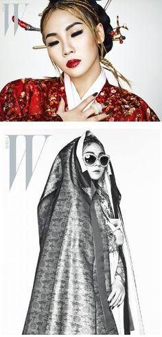 2NE1 Member CL is Featured in W Korea | Koogle TV