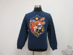 Fruit of the Loom Lake County Capitals Cleveland Indians Sweatshirt sz S Small #FruitoftheLoom #ClevelandIndians #tcpkickz