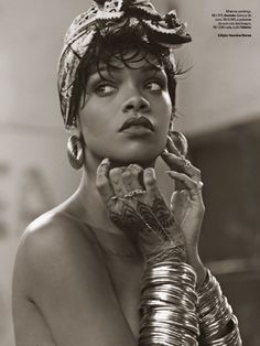 Rihanna by Mariano Vivanco for Vogue Brazil May 2014