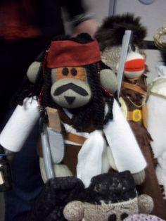 86496d2d6a1 Jack Sparrow  sock monkey Little Critter