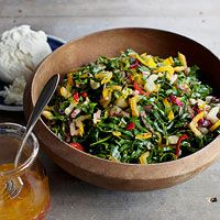 Shredded Swiss Chard Salad - now I know what to do with all that green stuff in our garden!