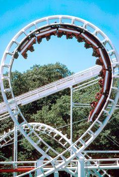 Rocky Point Corkscrew... my first roller coaster experience./ #freizeitpark #themepark #rollercoaster #Achterbahn #Achterbahnpark