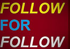 For Follow