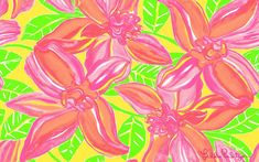 Lilly Pulitzer Print : Tropical Beauty