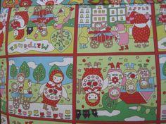 14 x 14 PILLOW COVER  Russian Matryoshka by Farmersmarketpillows, $12.59