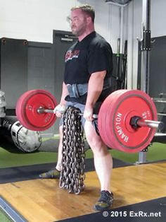Sumo Deadlift with Chains_westside program