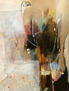 Noticing Miracles-Abstract by Joan Fullerton Mixed Media ~ 15 x 11
