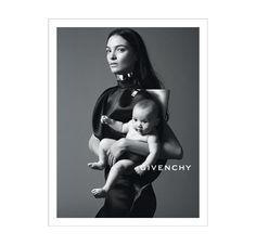 Mariacarla Boscono for Givenchy SS 2013 Campaign