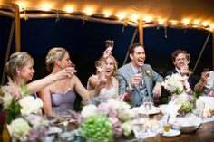 There is something so fresh, so beautiful about this Martha's Vineyard wedding snapped up byKelly Dillon Photography. It's overflowing with sweetness and filled to the brim with all the things that make me head over heels in love with summer