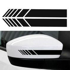 SODIAL Cool Autocollant De Style De Voiture 3D Ligne GT Autocollant pour Arri/èRe Porte De Voiture Porte Autocollants GT