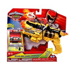 """Power Rangers Dino Charge - Deluxe Dino Charge Morpher - Bandai - Toys """"R"""" Us Power Ranger Party, Power Ranger Birthday, Power Rangers Toys, Batman Room, Spiderman Theme, Pawer Rangers, Nerf Toys, Pokemon, Towel Crafts"""