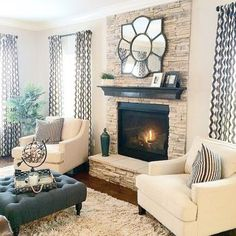 Cozy And Romantic Living Room 1138