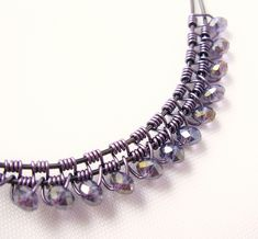 Beads in the weaves   This is the one I use the most.   dawnblairjewelry   Flickr