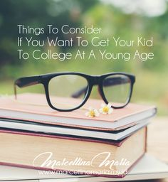 Your kid may be a genius, so he can move on to college at a young age. This achievement must have made you proud. But college at a young age is so challenging. Being a genius is not enough. A good attitude and capabilities are needed for success in college.
