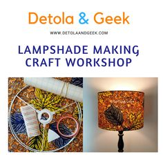 Why not try your hands at creating your very own bespoke handmade lampshade and learn a new skill at the same time! Friend Crafts, Learn A New Skill, How To Find Out, How To Make, Craft Kits, Lampshades, Crafts To Make, Create Yourself, Workshop