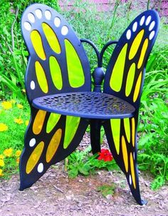 Wish | Unique Outdoor Chair Design Furniture With Butterfly