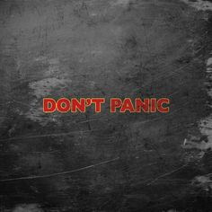 35 Best Dont Panic Images Hitchhikers Guide Guide To The Galaxy