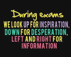 During Exam,,,,!!