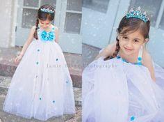 Stunning White  Queen Elsa Frozen beautiful by LITTLETREASURE4U, $38.00