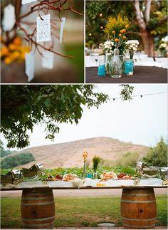 mini deserts country theme | classy western themed wedding aka no mini plastic boots and felt hats ...