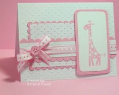 baby card by lorene
