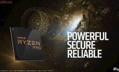 AMD lança processadores Ryzen Pro 7, Pro 5 e Pro 3 com recursos exclusivos
