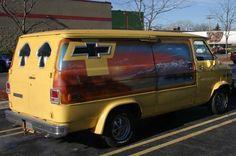 Custom Chevy van..vk Chevy Vans, Vanz, Cool Vans, Van Interior, Low Rider, Custom Vans, Chevy Trucks, Camper Van, Hippy