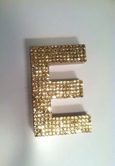 Gold Sequin Letters, 21?