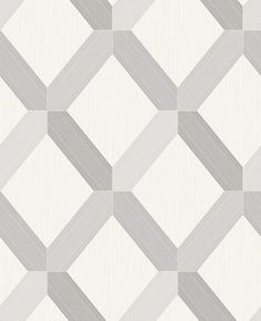 Lozenga (75550) - Albany Wallpapers - Lozenga, is a textured modern wallpaper. The design features an ultra-shiny glitter linear geometric pattern which is contrasted with a very matt textured background. Shown here in grey/white - more colours are available. Please request a sample for true colour match.