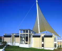 Sailwinds Visitors' Center: Located on the scenic banks of the Choptank River in Cambridge, Maryland, this square-foot facility serves as the focal point of an entertainment and tourist center at the adjacent park. Tourist Center, Tourist Information, Square Feet, Maryland, Exterior Design, Cambridge, Banks, Entertainment, River