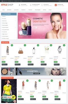 Leo StyleShop Prestashop,  best theme, prestashop version 1.6.0.8, Responsive