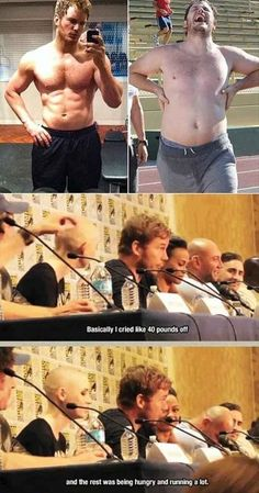 Funny pictures about Chris Pratt Explains How He Lost Weight. Oh, and cool pics about Chris Pratt Explains How He Lost Weight. Also, Chris Pratt Explains How He Lost Weight photos. Marvel Funny, Marvel Dc, Marvel Jokes, Dc Memes, Funny Memes, Funny Quotes, Memes Humor, Comedy Quotes, Life Quotes