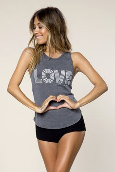 Love is the way. Love is the universal language of trust, friendship, and understanding. Find the love in our Neon Love Tank. #spiritualgangster 6m