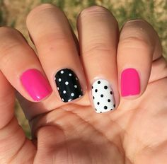 Nail Art Designs Simple Short Nails Design Ideas For Square & Round Nails in Spring & Summer - T Fancy Nails, Diy Nails, Pretty Nails, Short Nail Designs, Nail Art Designs, Nails Design, Nail Designs Spring, Simple Nail Designs, Salon Design