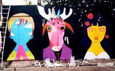 Paulo Cesar Silva assina suas obras como Speto e trabalha com arte de rua há mais de 20 anos. Suas inspirações são 100% voltadas para o Brasil, seu folclore e seus cordéis.