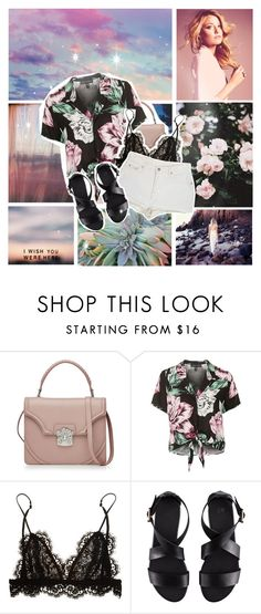 """I wish you were here"" by myduza-and-koteczka ❤ liked on Polyvore featuring KEEP ME, Alexander McQueen, Topshop, Isabel Marant, Levi's and H&M"