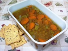 The days are getting shorter and cooler. It's perfect weather for one of my favorite, healthy foods... an easy lentil soup recipe... it's gluten-free, too.