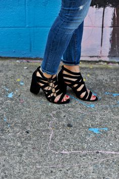 black and white outfit ideas, date night outfit ideas, shoes, black suede lace up shoes - My Style Vita @mystylevita