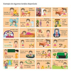 Mural das Conquistas - Tarefas - BBDU Baby Sleep Consultant, Portuguese Language, Craft Activities For Kids, Occupational Therapy, Adolescence, Kids And Parenting, Diy For Kids, Kids Playing, Baby Kids